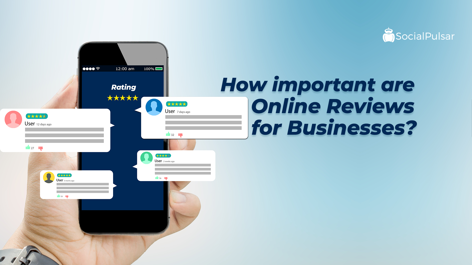 How Important Are Online Reviews For Businesses?